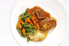 meatloaf φυτικά τρόφιμα Στοκ φωτογραφία με δικαίωμα ελεύθερης χρήσης