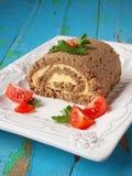Meatloaf с butter1 стоковая фотография
