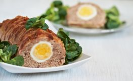 Meatloaf Royalty Free Stock Photos