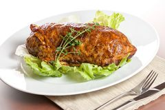 Meatloaf royalty free stock photo