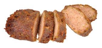 Meatloaf cozinhado fotos de stock royalty free