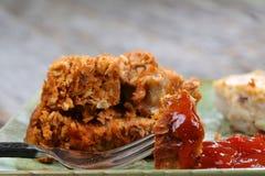 Meatloaf e batatas Fotos de Stock Royalty Free