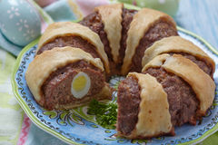 Meatloaf ring Stock Images