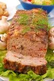 meatloaf rozrasta się paprykę Zdjęcia Stock