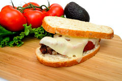 Meatloaf Sandwich Stock Photo