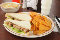 Meatloaf sandwich Royalty Free Stock Image