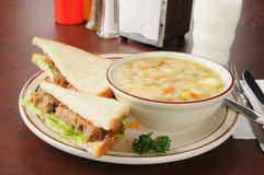 Meatloaf sandwich Stock Image