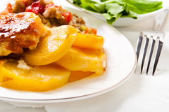 meatpotatoe Royaltyfria Bilder