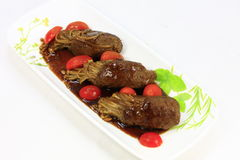 Meatrulle Royaltyfri Bild