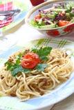 meatspagetti Royaltyfria Foton