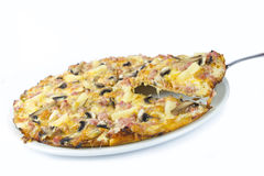 Meaty pizza Royalty Free Stock Images