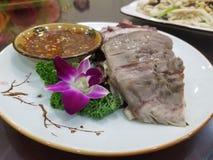 Meaty platta royaltyfri fotografi