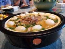 Meaty soppa arkivfoton