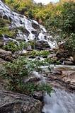 Meaya waterfall Royalty Free Stock Photo