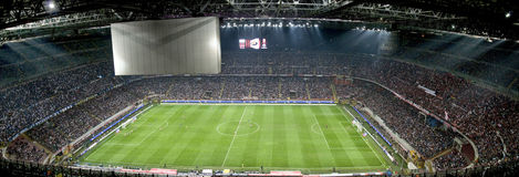 Meazza soccer stadium Stock Photo