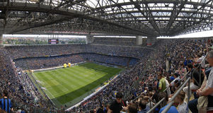 Meazza soccer stadium Stock Photography