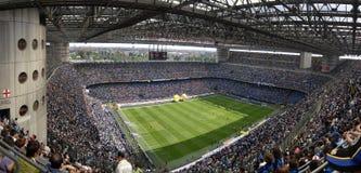 Meazza soccer stadium Stock Photo