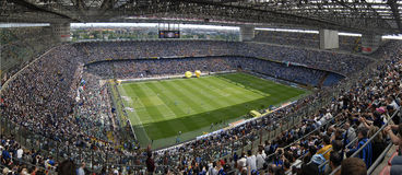 Meazza soccer stadium Stock Image