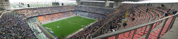 Meazza stadium in Milan, Italy Royalty Free Stock Images