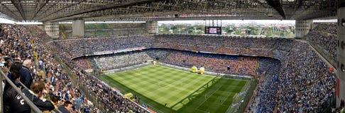 meazzafotbollstadion Arkivfoto