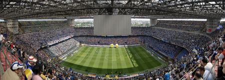 meazzafotbollstadion Royaltyfri Fotografi