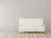 meblarska rzemienna żywa izbowa ustalona kanapa Zdjęcie Royalty Free