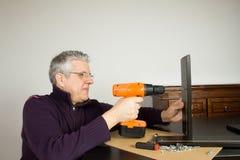 Meblarski instalator zdjęcia stock