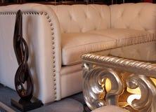 meblarski wewnętrzny żywy pokój Zdjęcie Royalty Free
