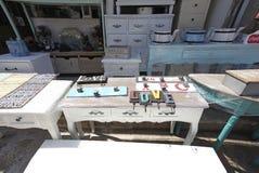 Meble i domowy wystrój robimy zakupy w Starym Yaffo, Izrael Obraz Stock