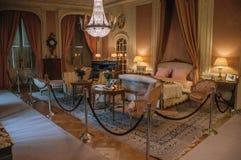 Meble w luksusowej De Haar Roszujący sypialni blisko Utrecht, Fotografia Royalty Free