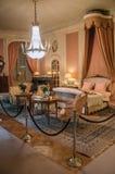 Meble w luksusowej De Haar Roszujący sypialni blisko Utrecht, Zdjęcie Royalty Free
