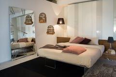 Meble W Luksusowej kuchni i sypialniach Obrazy Stock
