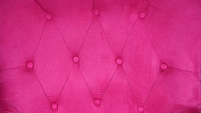 Meblowanie kanapa z fuksją lub menchii tapicerowaniem Obraz Stock