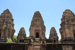 Восточное Mebon в Angkor Стоковое фото RF