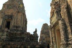 Висок восточное Mebon в Angkor Стоковое фото RF