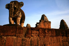 Mebon est, Angkor Images libres de droits