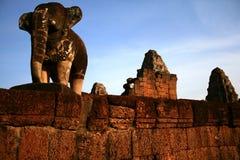 Mebon orientale, Angkor Immagini Stock Libere da Diritti