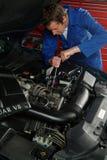 Mecánico de coche Foto de archivo libre de regalías