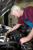 Mecánico de coche Fotos de archivo
