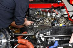 Mecánico de coche Fotos de archivo libres de regalías