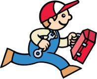 Mecánico de sexo masculino Imagen de archivo libre de regalías