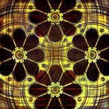 Mecánico Floral Background Foto de archivo
