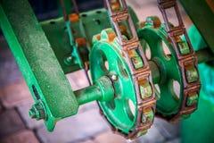 Mecánico Gears de la máquina Foto de archivo libre de regalías