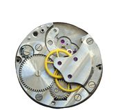 Mecánico viejo del mecanismo Ciérrese para arriba, tiro macro El vintage adapta VI fotografía de archivo libre de regalías
