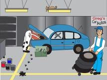 Mecânico ilustração do vetor
