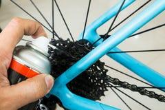 Mecânico da bicicleta fotos de stock royalty free