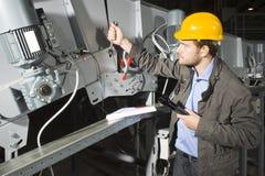 Mecânico da instalação Foto de Stock
