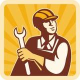 Mecânico do coordenador de construção ilustração royalty free