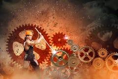 Mecânico do homem Imagens de Stock Royalty Free