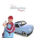 Mecânico do vintage Imagem de Stock Royalty Free